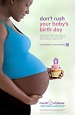 39 Weeks - Birth Day Poster (Black)