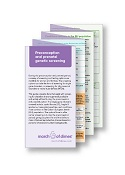 Preconception and Prenatal Genetic Screening Pocket Facts