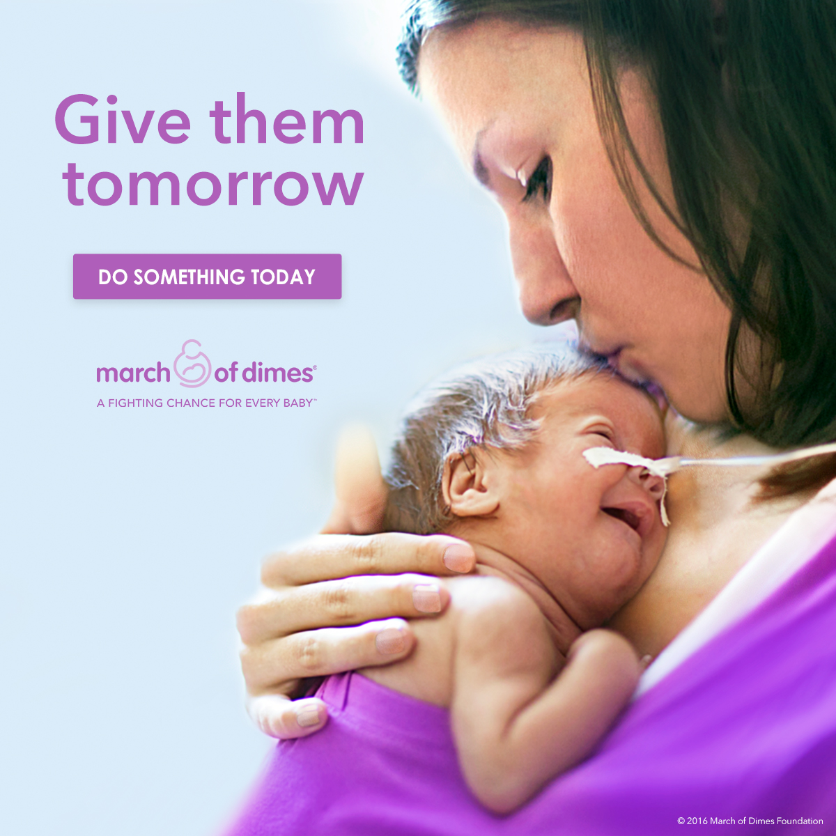 March of dimes launches new campaign to fight birth defects and give them tomorrow helps moms and babies nationwide voltagebd Choice Image