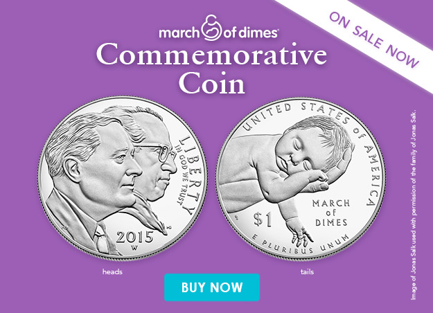 Commemorative Coin March Of Dimes