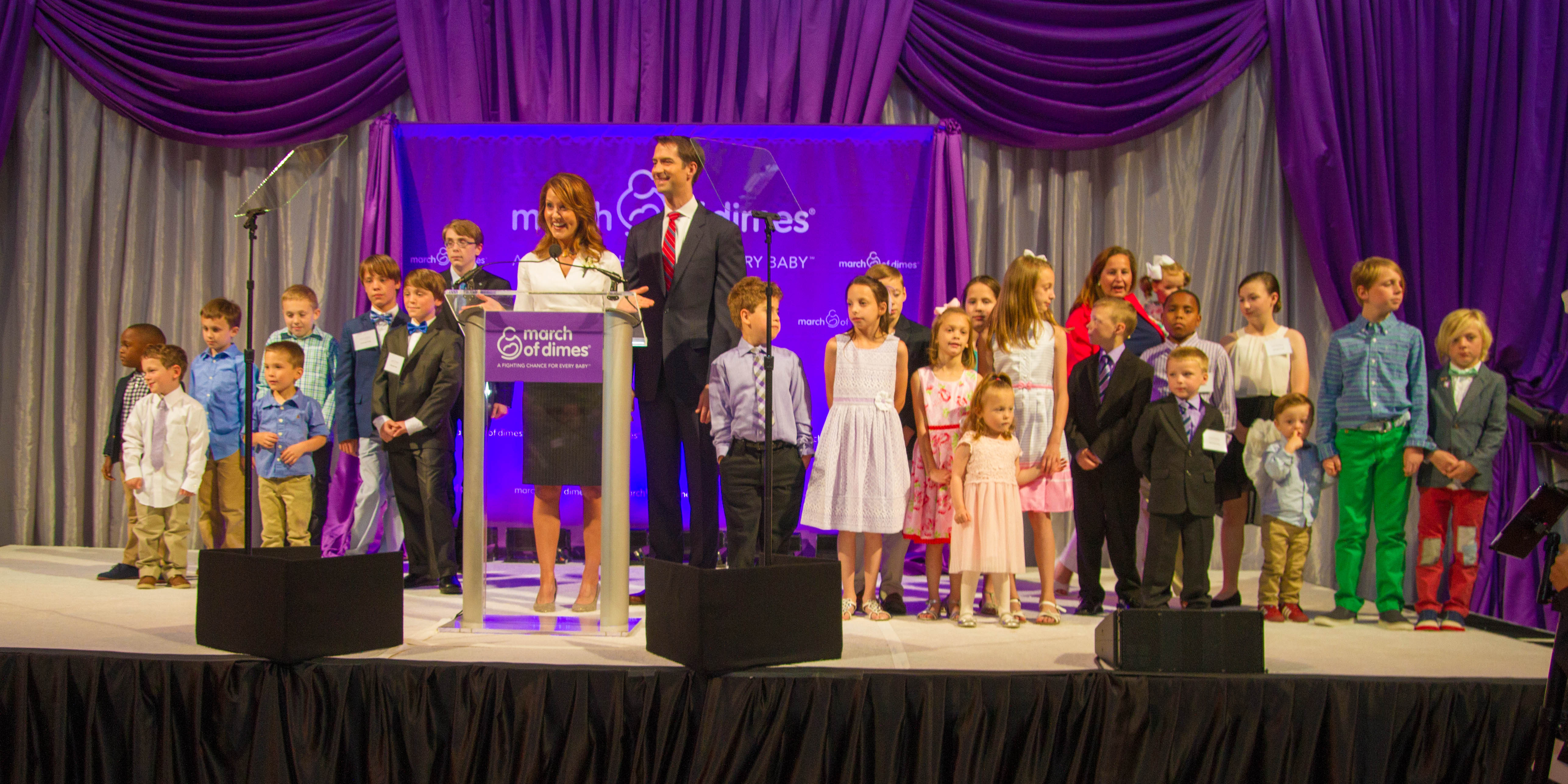 Members of congress unite to support march of dimes gourmet gala sen voltagebd Choice Image