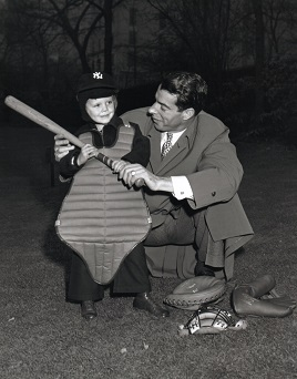 Joe DiMaggio and Donald Anderson