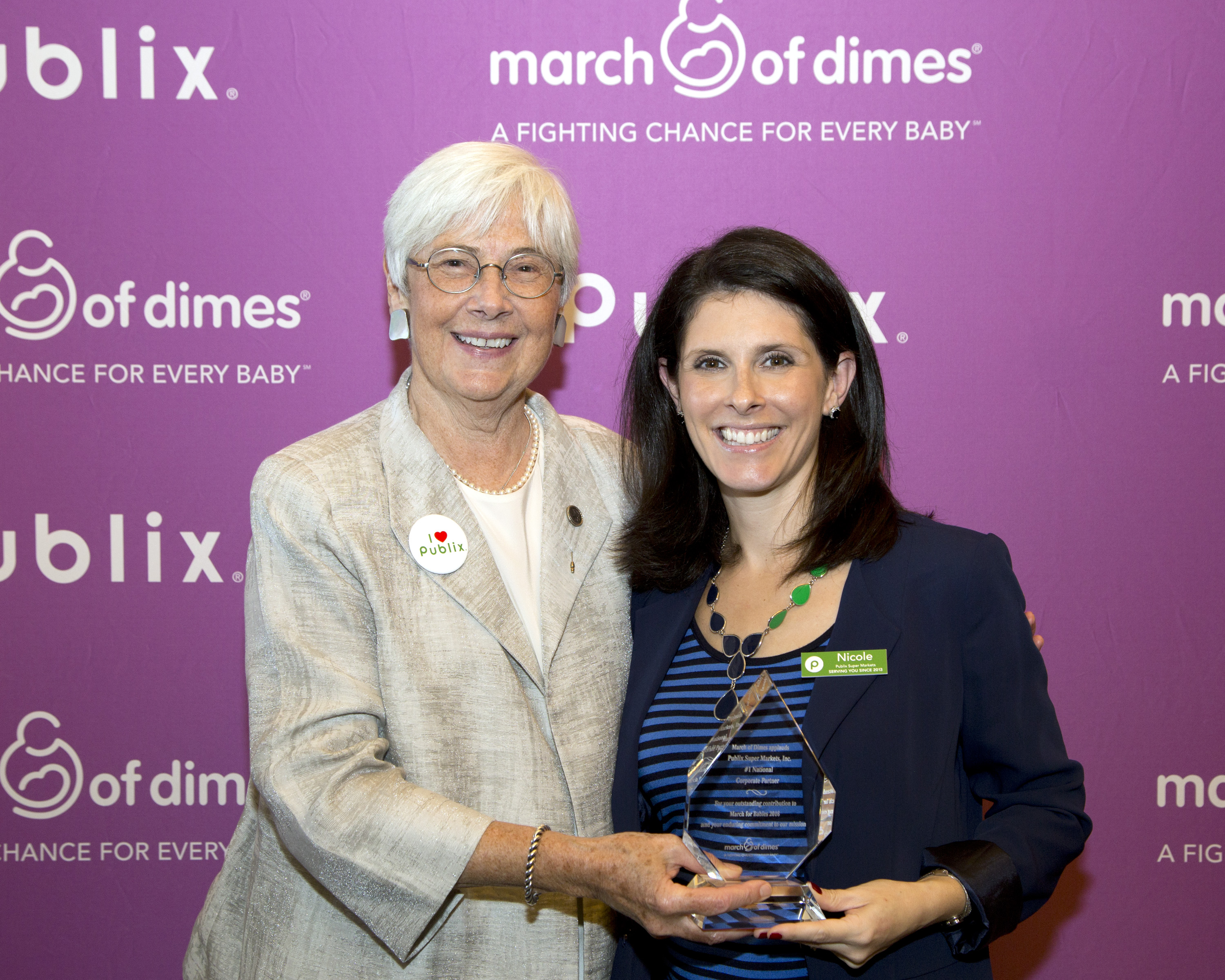Publix super markets is new 1 national march for babies corporate nicole voltagebd Choice Image
