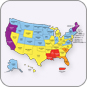 March of Dimes report card map